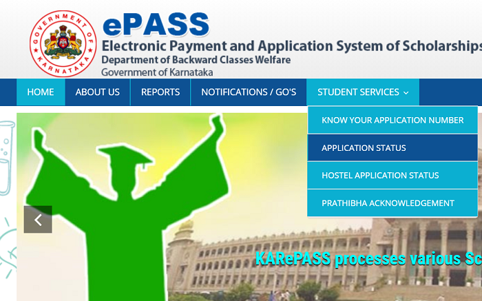 karepass cgg gov in application status